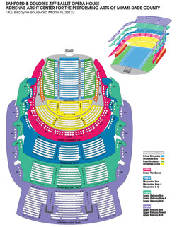 Arsht Center Seating Chart